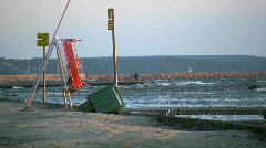Beach and water Stock Footage