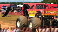 Stock Video Footage of Monster Truck HD