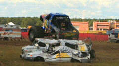 Monster Truck II HD Stock Footage