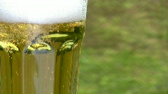 Beer Close Up Stock Footage
