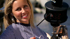 Living the yachting lifestyle Stock Footage
