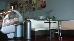 Jm711-Gelato Cafe Stock Footage