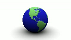 World Globe - stock footage