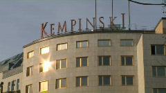 Berlin kempinski kurfuerstendamm Stock Footage