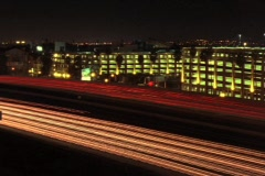 Freeway Traffic Abstract Stock Footage