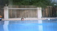 Stock Video Footage of Woman swims underwater