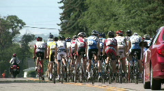 Tour of Utah bike race away M HD Stock Footage