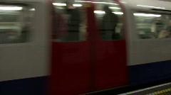 London Tube Stock Footage