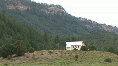 Chapel on the hill Colorado M HD Stock Footage