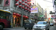 Stock Video Footage of China Macau Unesco old town Downtown traffic