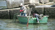 Stock Video Footage of Chinese fishing junks in Tai O Hong Kong China