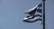Stock Video Footage of Greek Flag