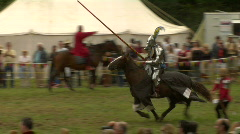 Knights Jousting - stock footage