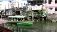 China Hong Kong Lantau island Tai O houses on stilts Stock Footage