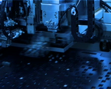 LED Manufacturing Machine - stock footage