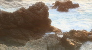 Stock Video Footage of Rocky Shore