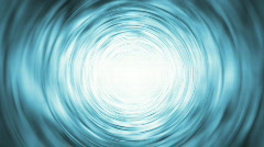 Background Blue Tunnel (24fps) - stock footage