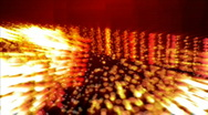Red Particle flow in HD Stock Footage