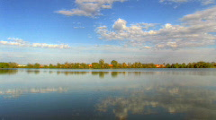 Reflexions - HDR time lapse Stock Footage