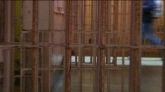 Jm774-Prison Corridor Stock Footage