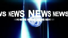 News break animation  Stock Footage