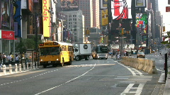 Times Square Bus Arkistovideo