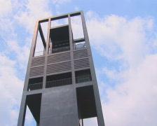 PAL: Netherlands carillon tiltdown Stock Footage