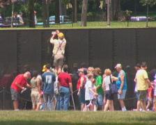 PAL: Vietnam Veterans Memorial Stock Footage