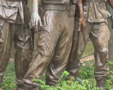 PAL: Vietnam Veterans Memorial Stock Footage