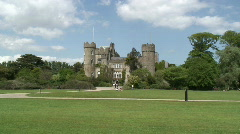 Malahide Castle Stock Footage