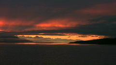Stock Video Footage of sunset in Alaska