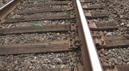 Stock Video Footage of Tracks Abstract 02