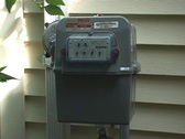 Gas Meter  Stock Footage