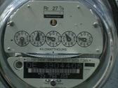 Stock Video Footage of Electric Meter