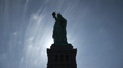 Statute of Liberty HD - stock footage