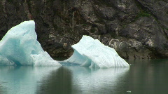 Icebergs Tracy Arm Stock Footage