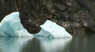 Stock Video Footage of Icebergs Tracy Arm