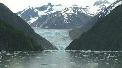 Sawyer Glacier - stock footage