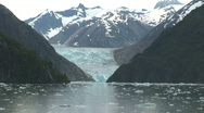 Stock Video Footage of Sawyer Glacier