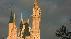 Magic castle Stock Footage