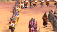 Stock Video Footage of participants in the Inti Raymi festival Cuzco, Peru