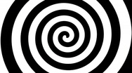 Retro Spiral w/ Alpha (30fps) Stock Footage