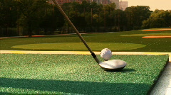 Driving Range - stock footage