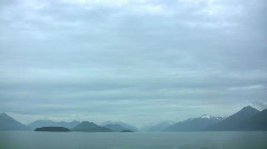 Alaskan horizon Stock Footage