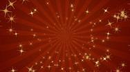 Infinite loop of golden sparks background Stock Footage