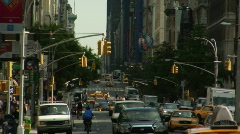 Fifth ave zoomout21 Stock Footage
