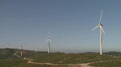 Wind power turbine  Stock Footage
