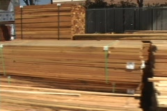 Lumber Yard Dolly Stock Footage