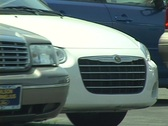 Zoom out Used Car lot Stock Footage