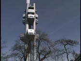 Prague TV Tower Stock Footage